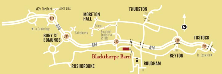 Find Blackthorpe Barn