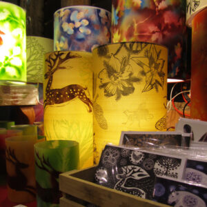 Annette Rolston's lampshades
