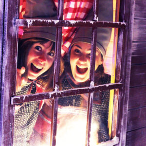 2 elves at the window