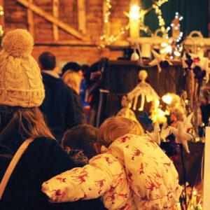 People browsing the British Crafts