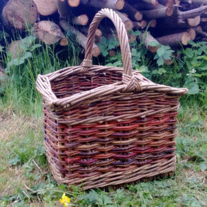 Willow Basket by Peter Dibble
