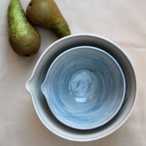 Pouring bowls by Kate Welton