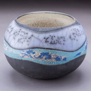 Ceramic pot by Michelle Daniels