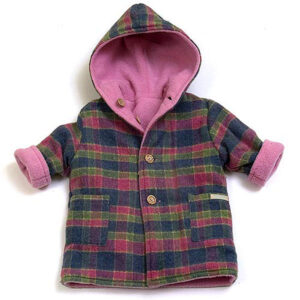 Designer children's coat by Ruth Lednik