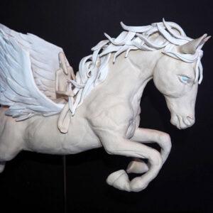 Horse sculpture by Sally Dunham