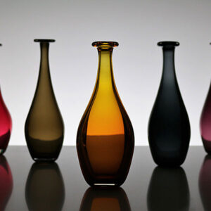 Glass Vase by Katerins Christou