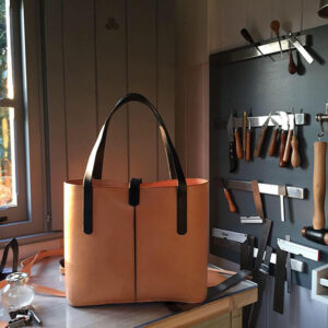 Leather Bag made in Potash Leather's workshop