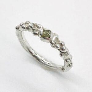 Silver ring jewellery by Zoe Jane