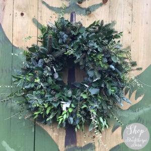 14 inch artisan fresh wreath